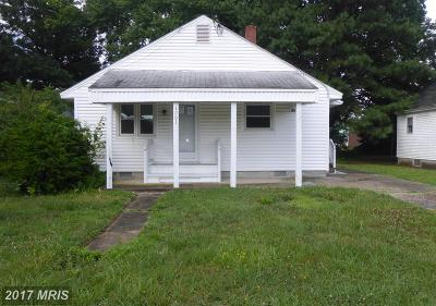 Pocomoke City Single Family Home For Sale: 1203 Cedar Street