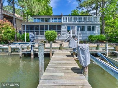 Somerset, Wicomico, Worcester Single Family Home For Sale: 10 Beach Court