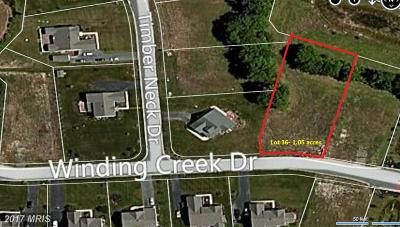 Worcester, WORCESTER COUNTY Residential Lots & Land For Sale: Winding Creek Drive