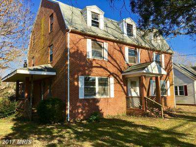 Pocomoke City Single Family Home For Sale: 1503 Market Street