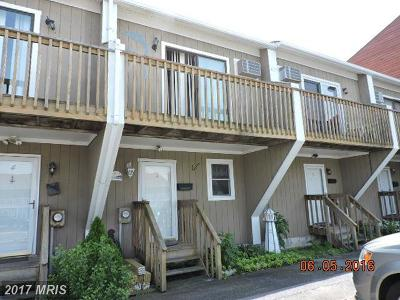 Ocean City Townhouse For Sale: 615 Bayshore Court #3