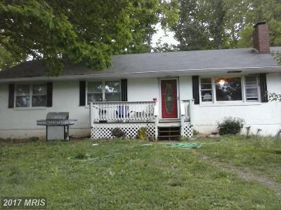 Warren Single Family Home For Sale: 2253 John Marshall Highway