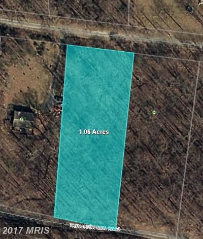 Warren Residential Lots & Land For Sale: Thompson Mill Road