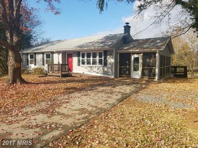 Warren Single Family Home For Sale: 2706 Strasburg Road