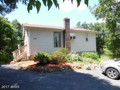 Single Family Home For Sale: 218 Dry Run Court