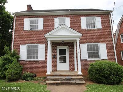 Warren Single Family Home For Sale: 320 Virginia Avenue