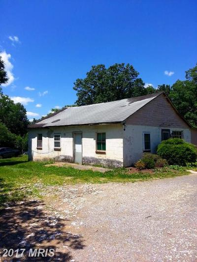 Middletown Single Family Home For Sale: 543 Catletts Ford Road