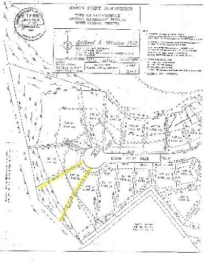 Essex County Residential Lots & Land For Sale: 1284 Heron Point Road