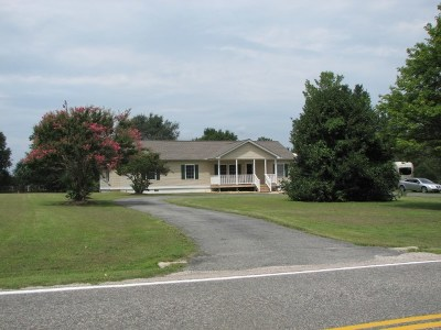 Richmond County Single Family Home For Sale: 489 Rich Neck Road