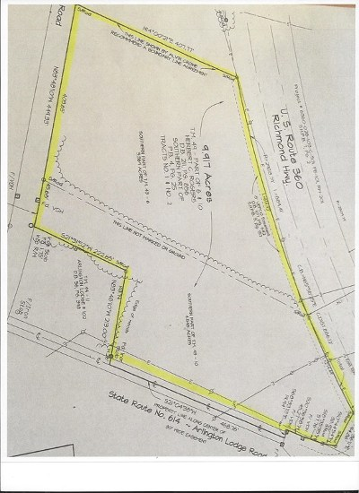 Essex County Residential Lots & Land For Sale: 000 Richmond-Tappahannock Hwy
