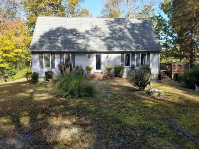 Heathsville VA Single Family Home For Sale: $200,000