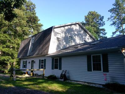 Richmond County Single Family Home For Sale: 12483 Newland Road