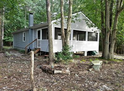 Heathsville VA Single Family Home For Sale: $169,000