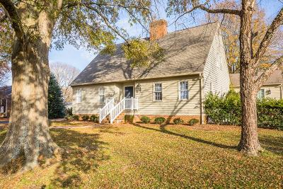 Richmond County Single Family Home For Sale: 120 College Avenue