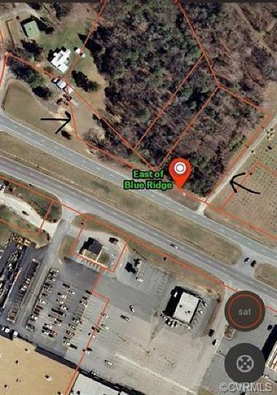 Richmond County Residential Lots & Land For Sale: Richmond Road