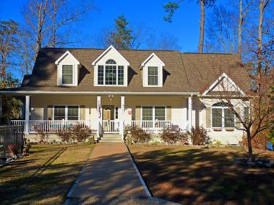 Lancaster County Single Family Home For Sale: 1876 Taylors Creek Road
