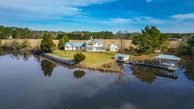 Northumberland County Single Family Home For Sale: 835 Wicomico Point Road