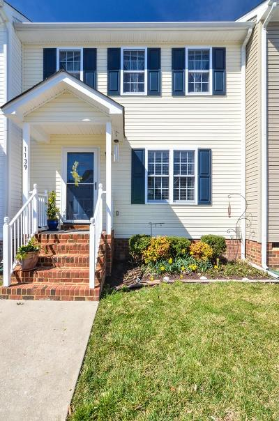 Essex County Single Family Home For Sale: 1139 Settlers Landing Drive