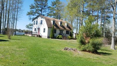Northumberland County Single Family Home For Sale: 5625 Balls Neck Road