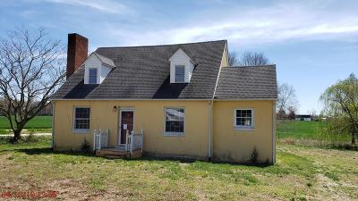 Richmond County Single Family Home For Sale: 604 Drinking Swamp Road