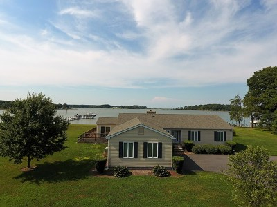 Northumberland County Single Family Home For Sale: 995 Smith Point Road