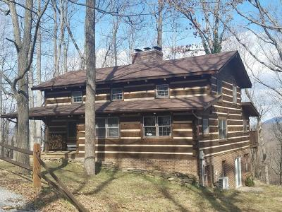 Shawsville Single Family Home For Sale: 2354 Georges Run Rd