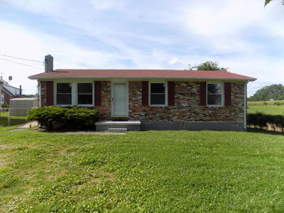 Christiansburg Single Family Home For Sale: 2120 Hammes St