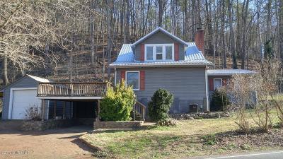 Shawsville Single Family Home For Sale: 3629 Alleghany Spring Rd