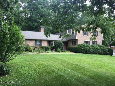 Wythe County Single Family Home For Sale: 130 Nottingham Drive