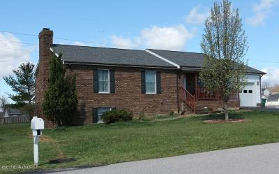 Christiansburg Single Family Home For Sale: 45 Massie Dr NW