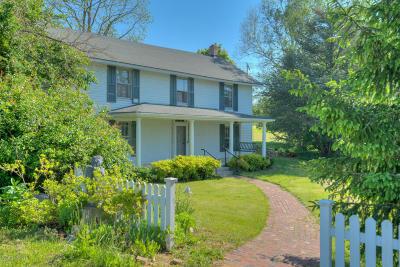 Riner Single Family Home For Sale: 1224 Laurel Ridge Mill Rd