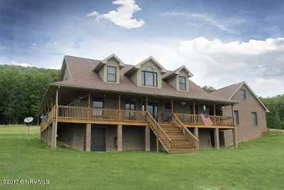 Wythe County Single Family Home For Sale: 384 Back Road