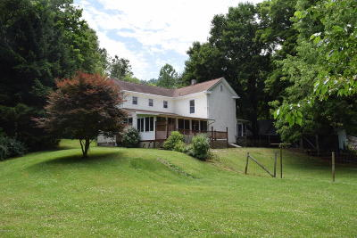 Montgomery County Single Family Home For Sale: 3496 Alleghany Spring Road