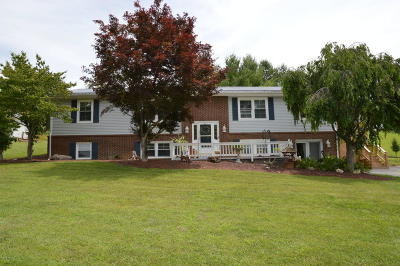 Dublin Single Family Home For Sale: 4992 Claytor Dam Rd