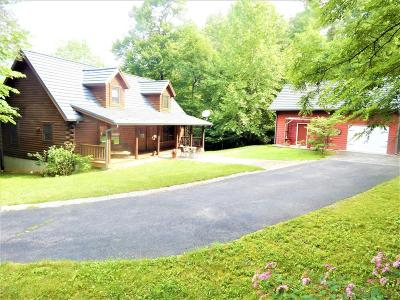 Shawsville Single Family Home For Sale: 5285 Jewell Dr