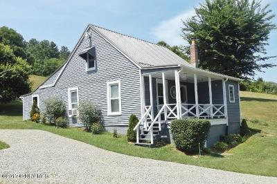 Pearisburg Single Family Home For Sale: 514 Bear Springs Road