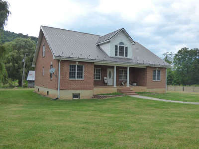 Wythe County Single Family Home For Sale: 2122 Dry Road