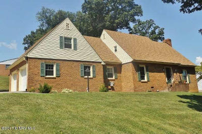 Pearisburg Single Family Home For Sale: 204 Caudill Street