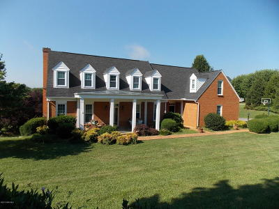 Christiansburg Single Family Home For Sale: 140 Emerald Boulevard