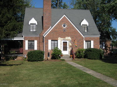 Christiansburg Single Family Home For Sale: 220 S Hill Dr
