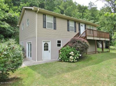 Christiansburg Single Family Home For Sale: 1909 Craigs Mountain Road