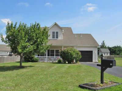 Christiansburg Single Family Home For Sale: 30 Jessie Cir NW