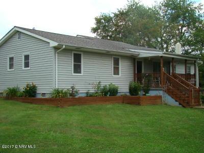 Radford Single Family Home For Sale: 7563 Little River Dam Rd