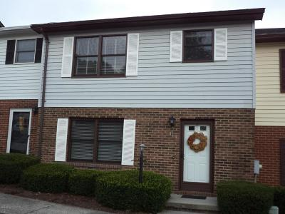 Christiansburg Condo/Townhouse For Sale: 119 Franklin Parke Ct SW