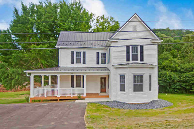Shawsville Single Family Home For Sale: 3751 Oldtown Rd