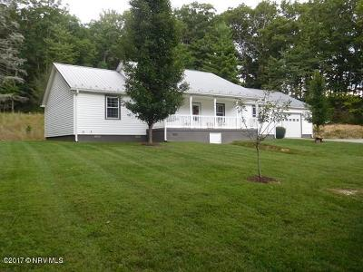 Wythe County Single Family Home For Sale: 286 Broadway Road