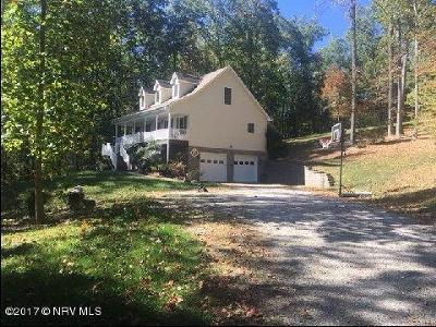 Blacksburg Single Family Home For Sale: 3746 Mt Tabor Rd