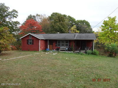 Pulaski County Single Family Home For Sale: 6478 Parrott Mountain Road