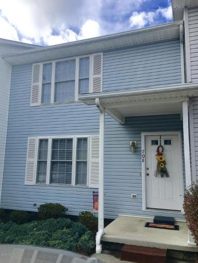 Christiansburg Condo/Townhouse For Sale: 708 Park St