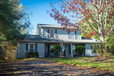 Christiansburg Single Family Home For Sale: 385 S Hill Dr